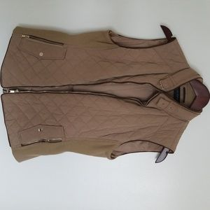 Quilted outdoor vest